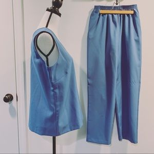 Vtg 70's Haband Pant Set
